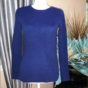 Anne Klein dark blue sweater Sz.S